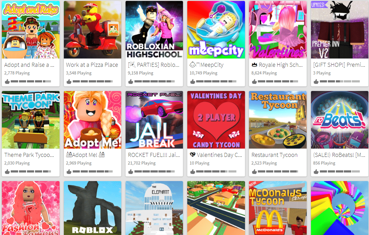 Games Not To Play On Roblox Roblox Tips To Keep Your Kids Safe