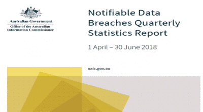 "Notifiable Data Breaches Quarterly Statistics Report Highlights the ""Human Element"""